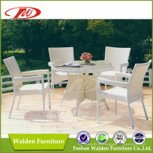 Móveis de vime, mesa de jardim, cadeira de lazer (DH-6069)