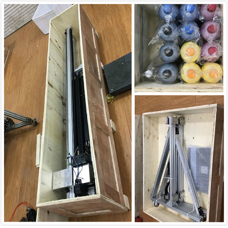wall printer packing
