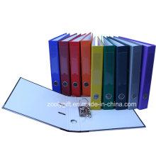 PP que cubre la etiqueta de la espina Bolsillo de papel impreso Archivo de arco de palanca