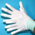 Gants d'ajustement de paume d'ESD enduits d'unité centrale pour la salle blanche antistatique