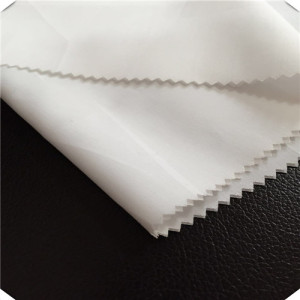 The Cotton Polyester Plain White Fabric