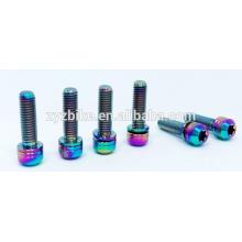 titanium bike stem bolts bolts M5*18 mm TC4