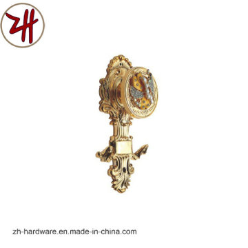 Hardware Clouth Plastic Curtain Robe Hook (ZH-8605)