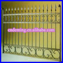 Gebrauchte dekorative Eisenzaun zum Verkauf DM Hersteller