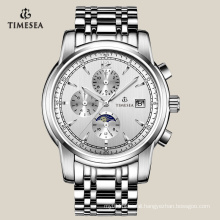 Men Leisure Automatic Watch with Stainless Steel Band 72107