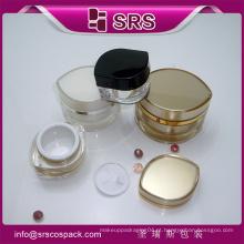 SRS compõem frascos cosméticos vazio para o cuidado da pele e creme facial