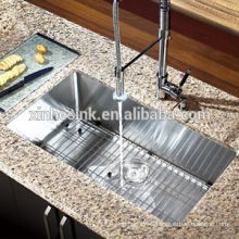 Handmade Stainless Steel Sink for sale, American cUPC Stainless Steel Single Bowl Undermount Kitchen Sink
