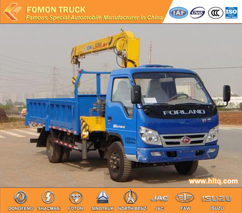 china foton forland 2tons small 4x4 truck mounted crane manufacturers. Black Bedroom Furniture Sets. Home Design Ideas