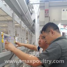 Equipamento automático de gaiola de frango