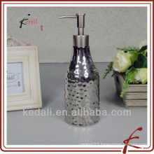 ceramic brushed nickel soap dispenser