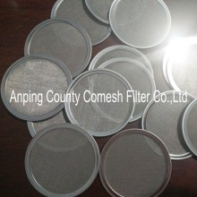 56mm Stainless Steel Bound Coffee Filter Disc