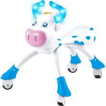 Aktualisierte Version Blau & Rosa Schöne Kuh Baby Walking Car mit Rädern Tiere Kinder Fahrt auf Auto 10218546