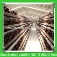 Jaula de aves jaula granja de aves de corral con bebedores automáticos de pezones