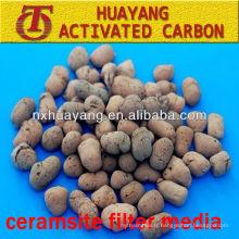 Sable de ceramsite de 3-5mm pour l'amélioration du sol