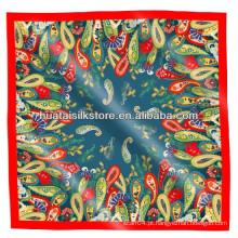 Mulheres Lenço Shawl 100 Silk Paisley Impresso Dubai Hijab