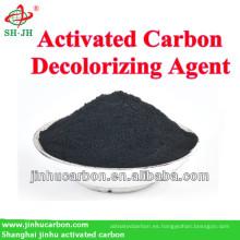 Carbón activado para la industria de decoloración del azúcar