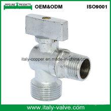 Válvula de ángulo de pulido de calidad personalizada (AV30010)