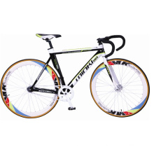 700 C Wheels Alloy Muscular Fixie Bike (MK15MT-70416)