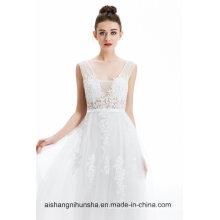 Sexy Backless Formal Bride Elegant Banquet Dresses