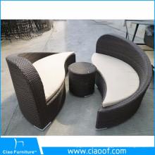 Meubles Yin Yang de meubles de rotin de conception unique de haute qualité