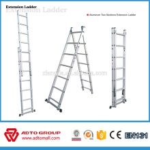 escalera de extensión de aluminio, escaleras extensibles, escalera extensible