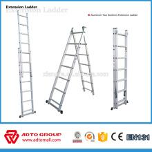 échelle d'extension en aluminium, échelles d'extension, échelle extensible