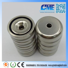 Strong D25X7mm Neodymium High Quality Permanent Pot Magnet
