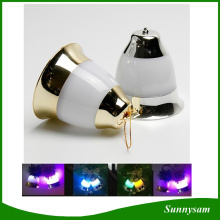 Sound Sensor Jingle Bell LED Light with Music for Christmas Tree Decoration