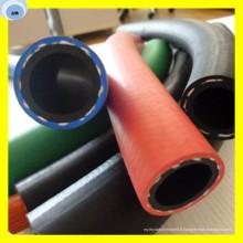 Tuyau en caoutchouc de tuyau de couleur de tuyau de gaz de PVC 300psi