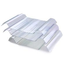 Folha ondulada do telhado da luz solar do vidro de fibra de FRP