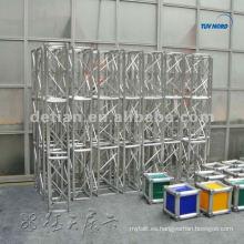 La cabina de la feria comercial utilizó el braguero de aluminio del braguero, braguero de la boda