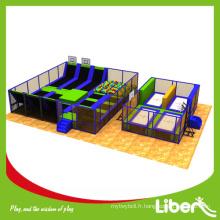 Parc industriel de trampoline d'intérieur à l'usine chinoise pour adolescent et enfants