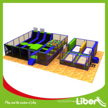Chinese factory professional indoor trampoline park for teenager and kids