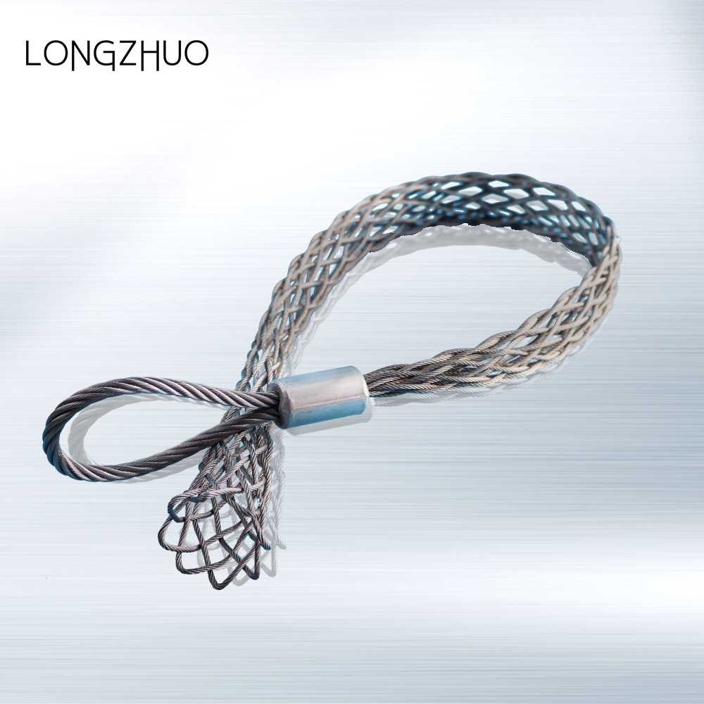 Double Eye Smooth Wire Mesh Cable Socks