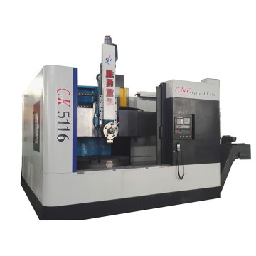 2 axis cnc vertical turning lathes