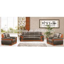 Design de canapés en cuir moderne pour bureau, meuble de bureau design et vente de meubles de bureau, Fabricant de meubles de bureau à Foshan (KS13)
