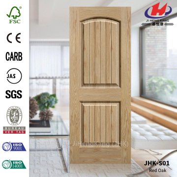 5mm Lattice Wood Grain Nature Oak Veneer Door Skin