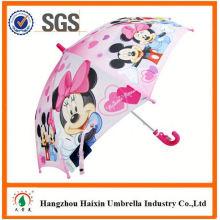 Professional Auto öffnen süß drucken billig Auto öffnen Kinder Regenschirm