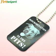 ODM for Custom Dog Tags For Pets Men's Dog Tags Personalised By Metal supply to France Exporter