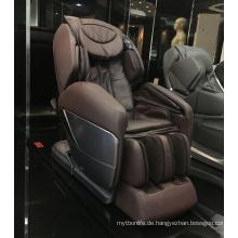 Mobile APP Control Black Leder Ganzkörper-Massage-Stuhl