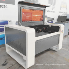 HOT SALES CNC Laser engraving machine and  laser cutter 4060/9060  for arcylic wood glass marble leather MDF paper fabric