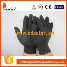 Hot Sale Knitted Gloves PVC Dots-Dkp429