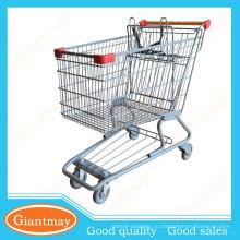 горячая проволочная корзина супермаркет торговый центр тележка|тележка для продажи