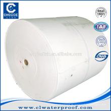Tecidos não tecidos spunbond tapete de poliéster para betume impermeabilização