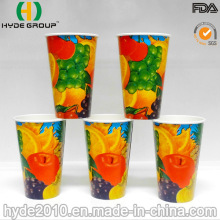 12 oz refresco desechable papel tazas con logotipo personalizado (12oz)