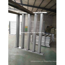 115X42mm Oval Rails Cattle Panel, paneles de ganado
