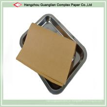 Folha de forro de panela de cozimento por atacado de revestimento de silicone