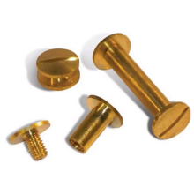 Aluminium CNC Threaded Hollow Double Head Rivet