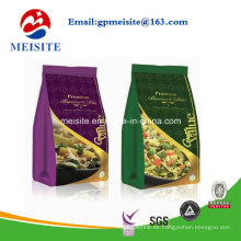 Self Stand Snack Food Embalaje de impresión personalizada de aluminio hoja de cierre de bloqueo de bolsa