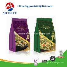 Self Stand Snack Food Packaging Custom Printing Aluminum Foil Zip Lock Bag